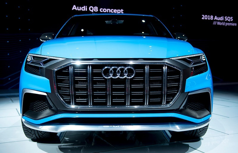 The Audi Q8 concept SUV is shown during the 2017 North American International Auto Show in Detroit, Michigan, January 10, 2017.