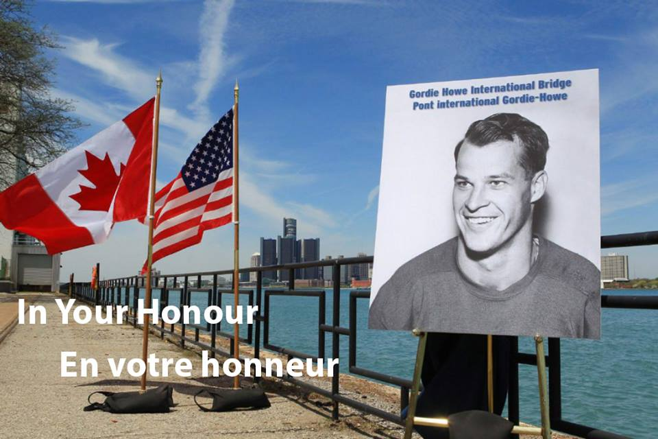 Conceptual images of the Gordie Howe International Bridge