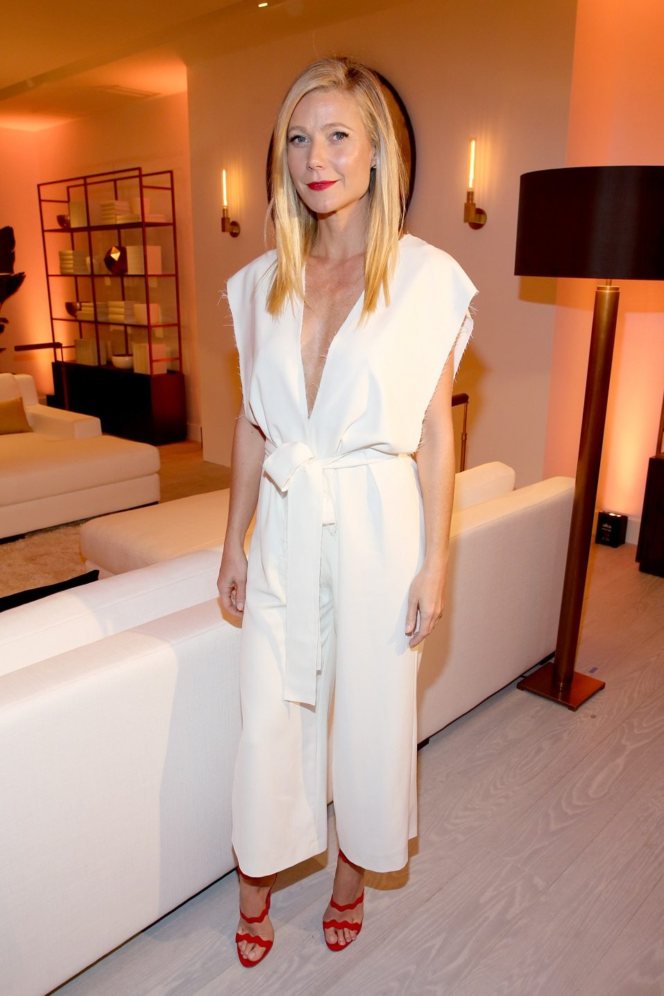 Actress Gwyneth Paltrow attends the unveiling of the RH Modern Gallery in Los Angeles