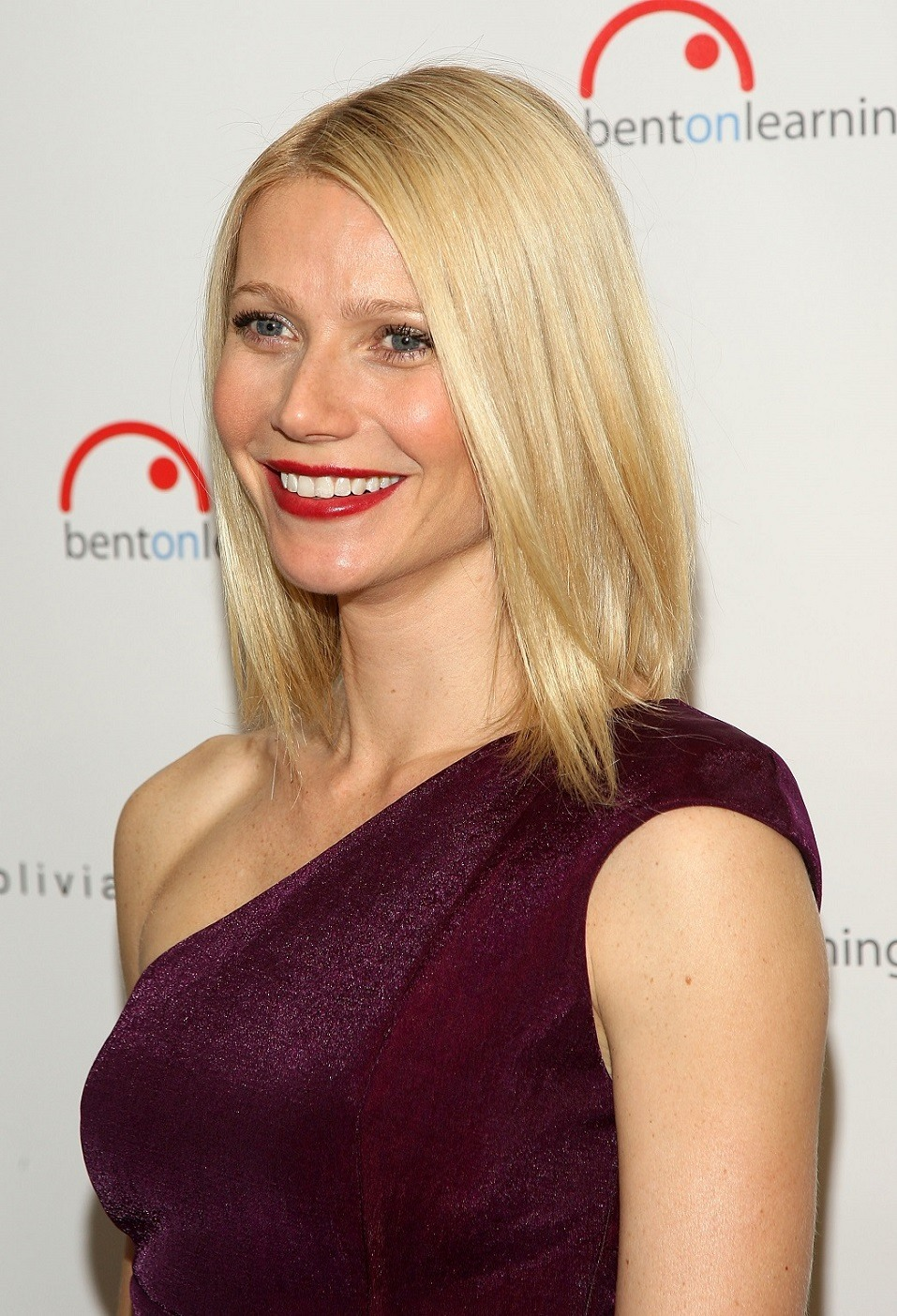 Actress Gwyneth Paltrow attends the Bent On Learning Charity event at Stephen Weiss Studio