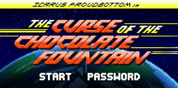 Icarus Proudbottom in The Curse of the Chocolate Fountain