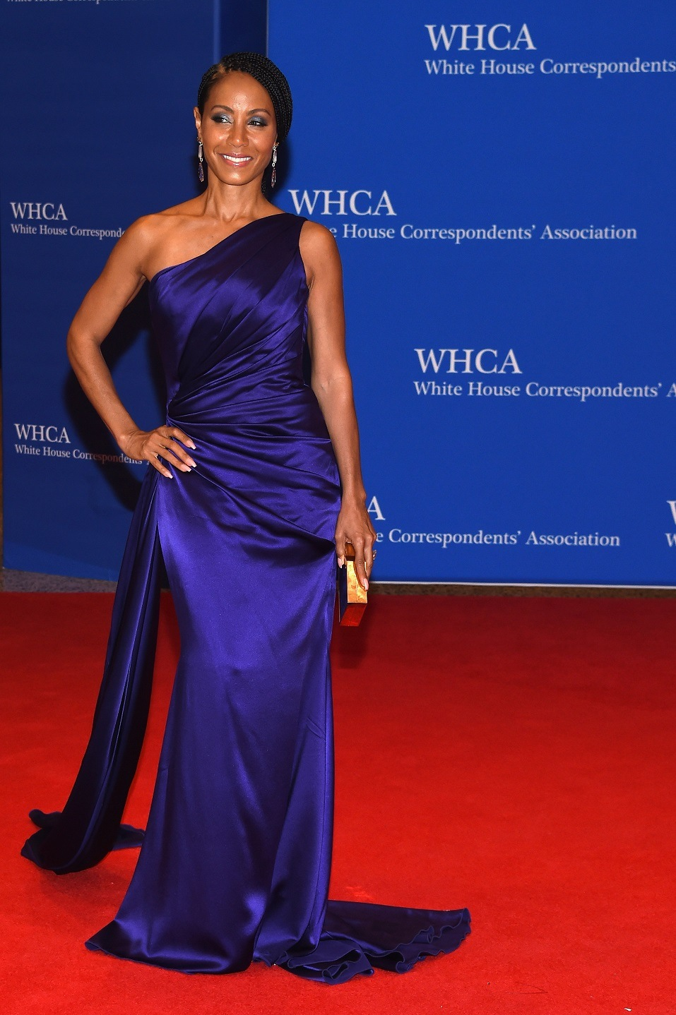 Actress Jada Pinkett Smith attends the 102nd White House Correspondents' Association Dinner