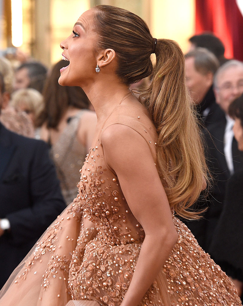 Recording artist Jennifer Lopez attends the 87th Annual Academy Awards