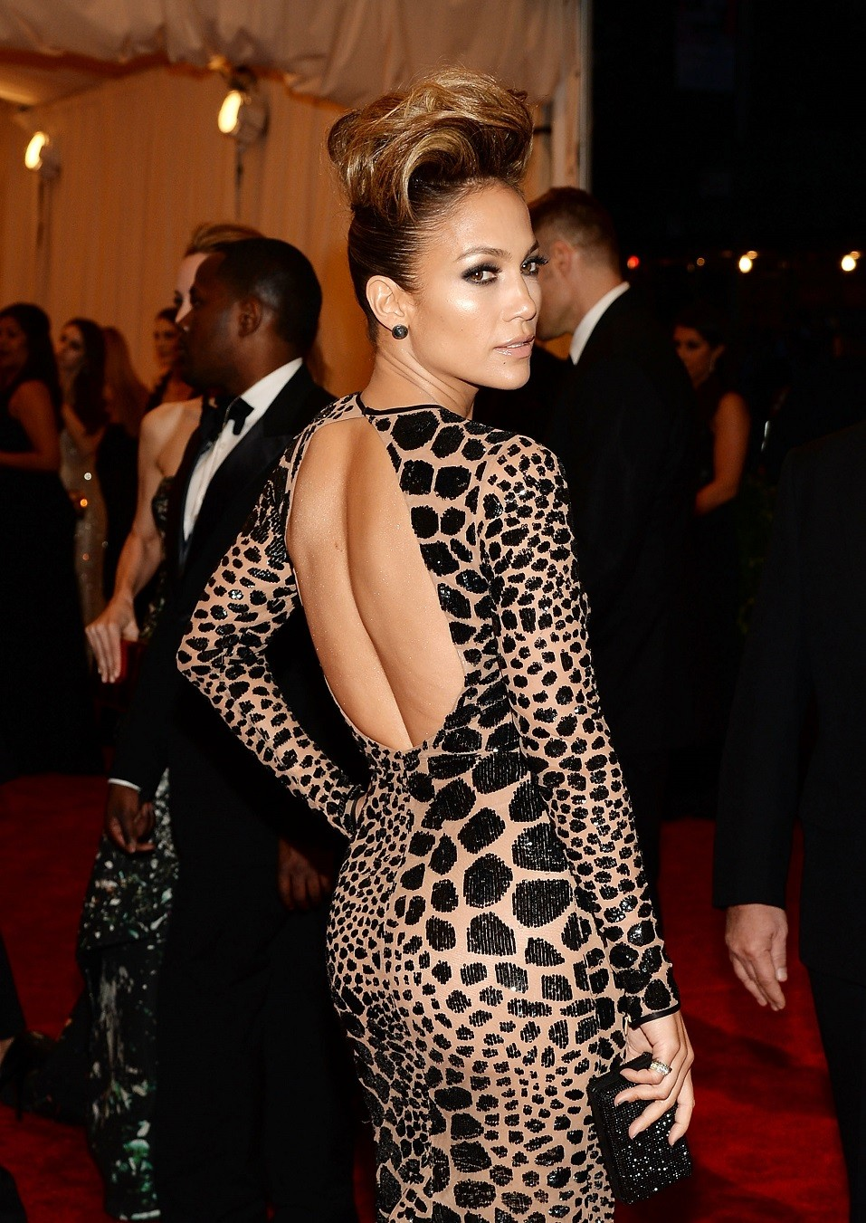 "Jennifer Lopez attends the Costume Institute Gala for the ""PUNK: Chaos to Couture"" exhibition"