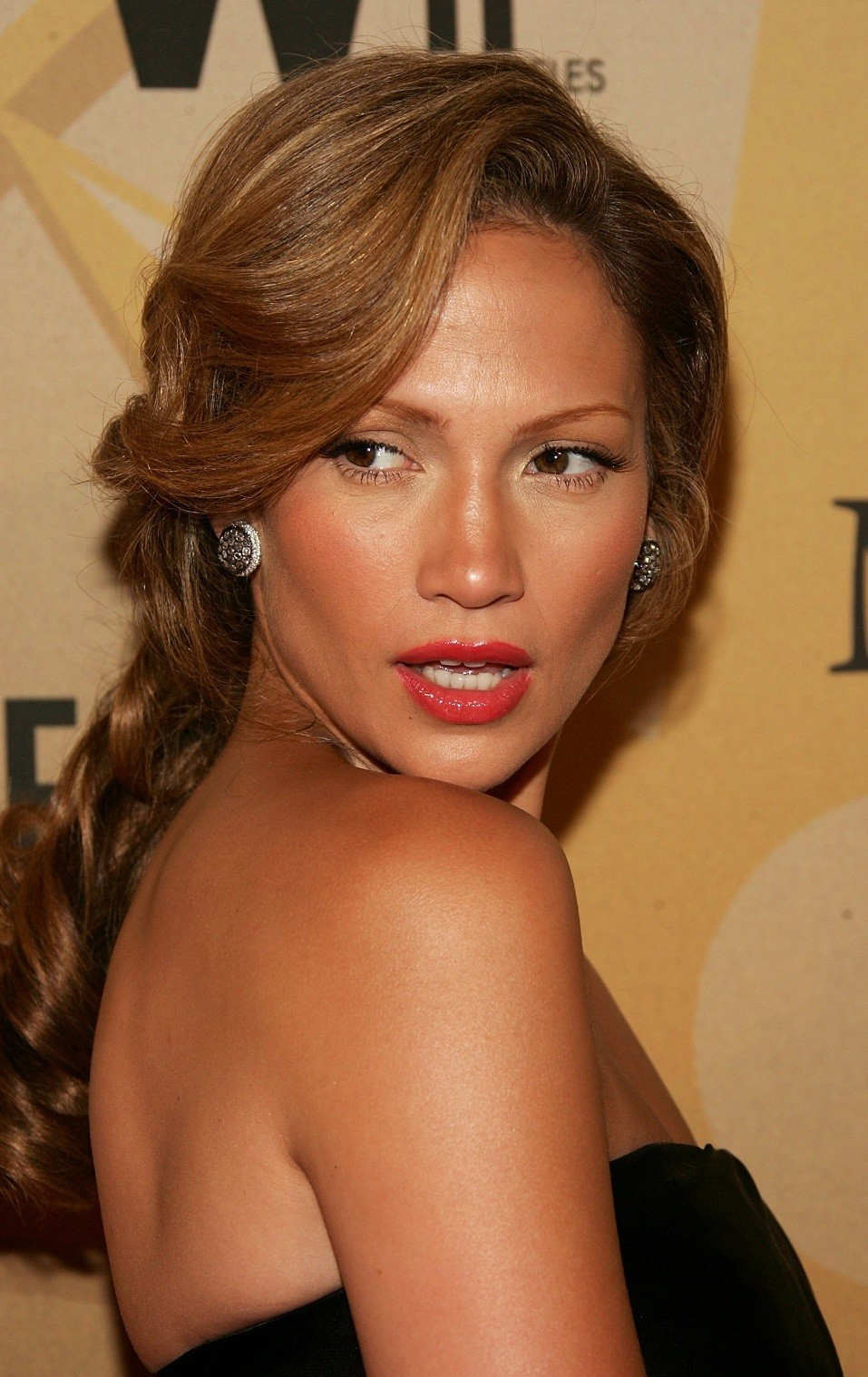 Actress Jennifer Lopez arrives at the Women in Film presentation