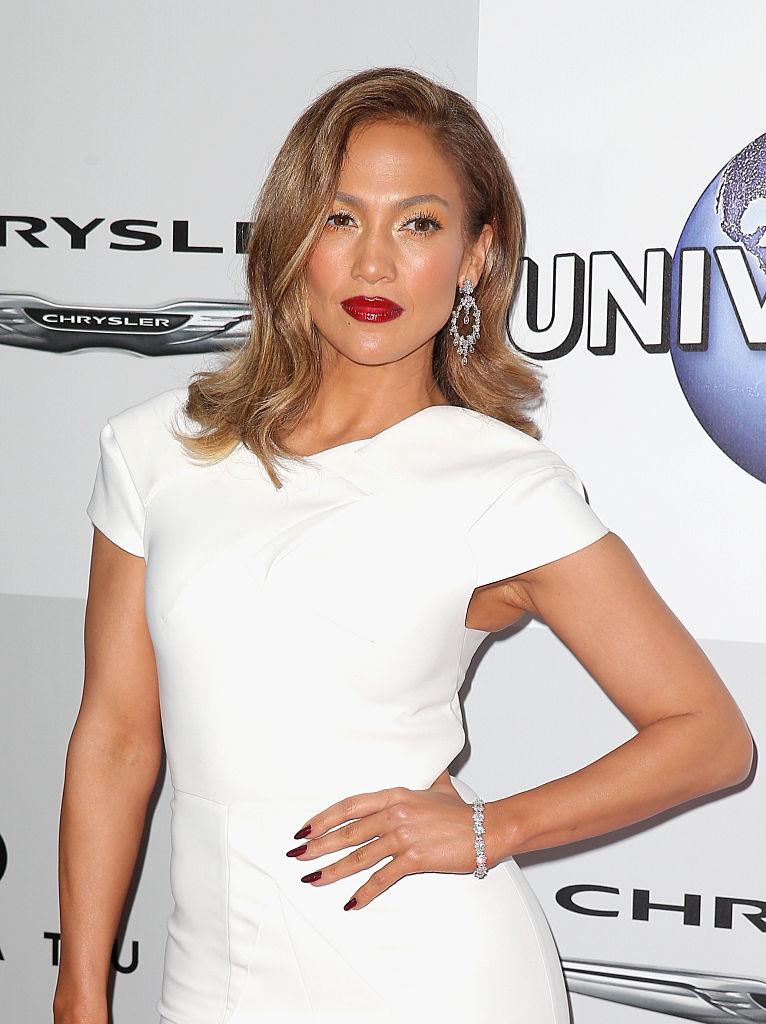 Actress Jennifer Lopez attends Universal, NBC, Focus Features and E! Entertainment Golden Globe Awards