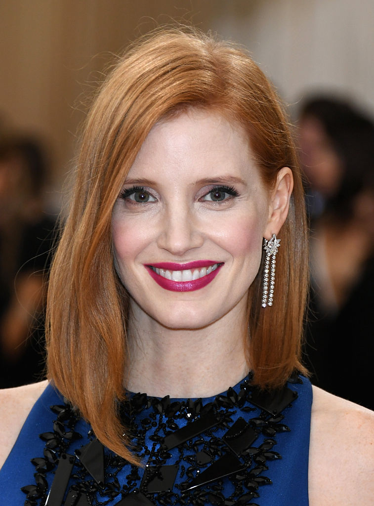 "Jessica Chastain attends the ""Manus x Machina: Fashion In An Age Of Technology"" Costume Institute Gala"