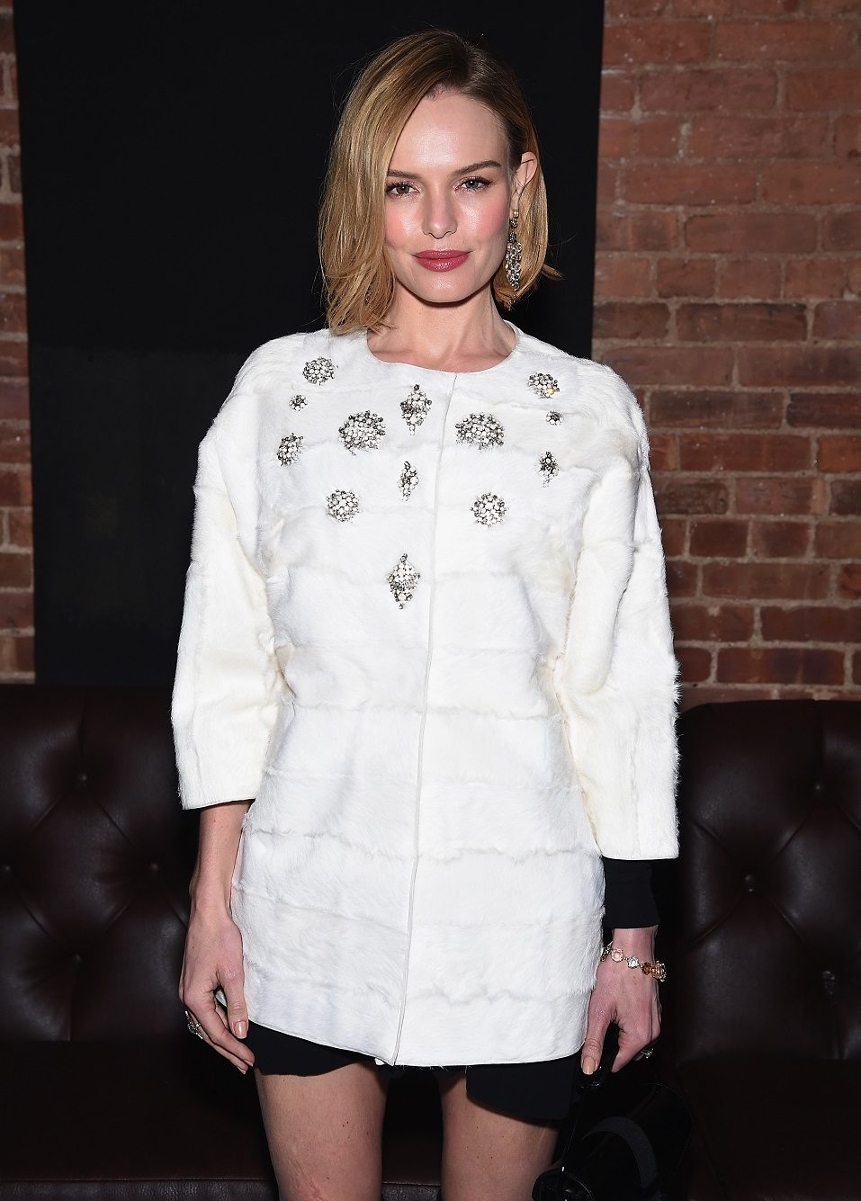 Kate Bosworth attends The Cinema Society with Montblanc and Dom Perignon