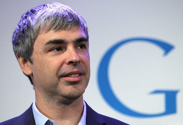 Google's Larry Page Holds Media Event In New York City