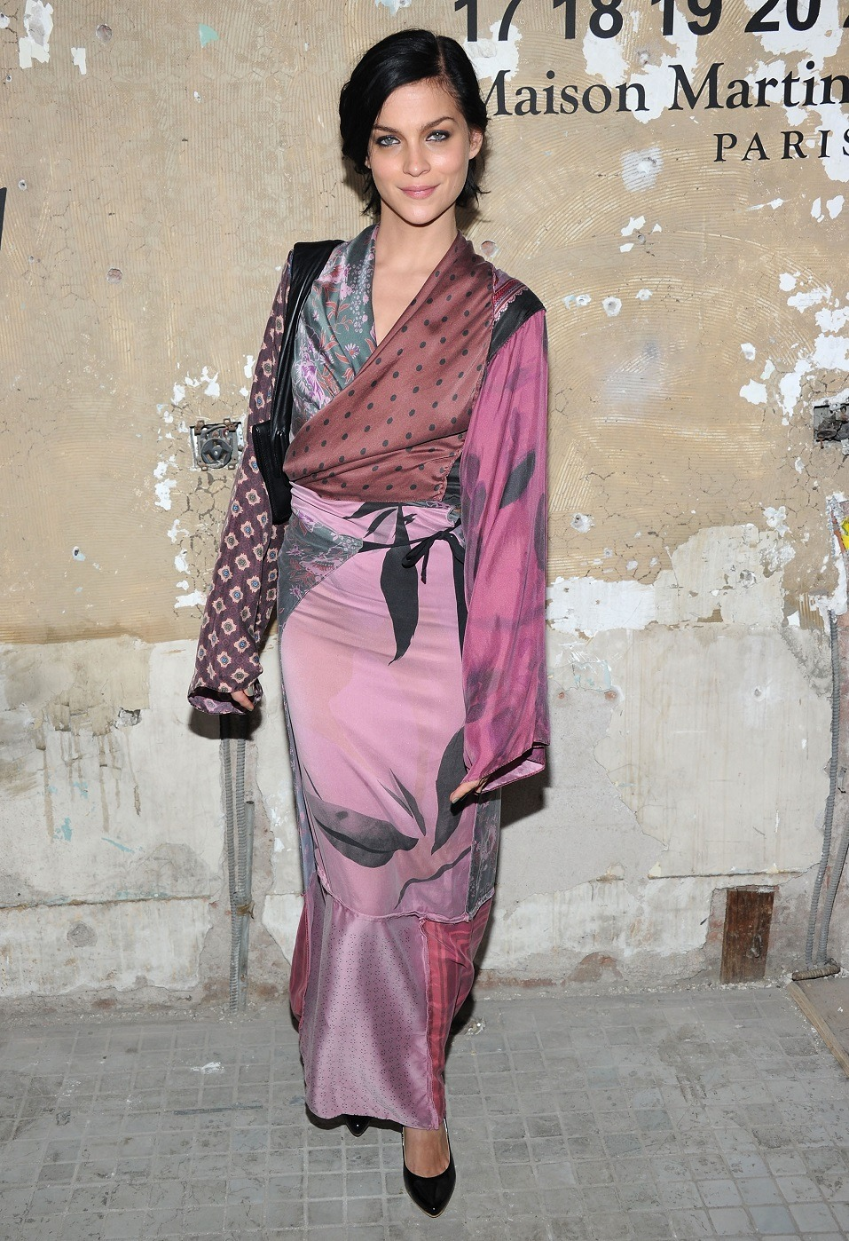 Leigh Lezark attends the Maison Martin Margiela