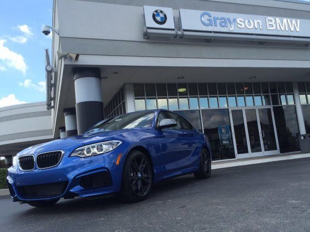 The BMW M240i coupe features more torque than the M2 and gets outstanding fuel efficiency gains
