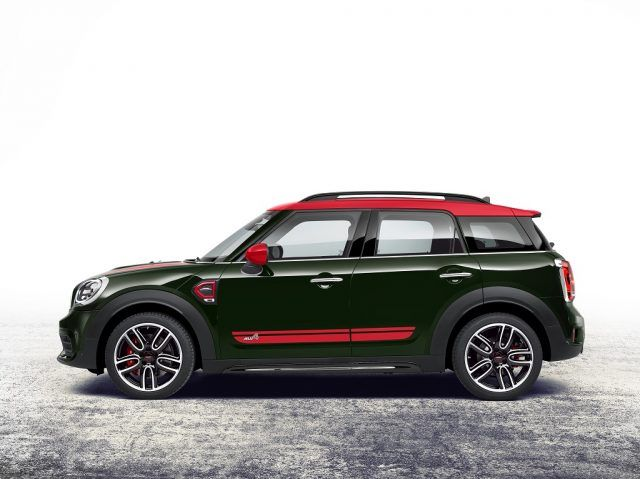 The all-new JCW version of the MINI Countryman offers a turbocharged power punch with loads of practicality and luxury