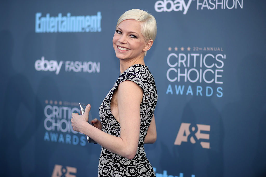 Actress Michelle Williams attends The 22nd Annual Critics' Choice Awards