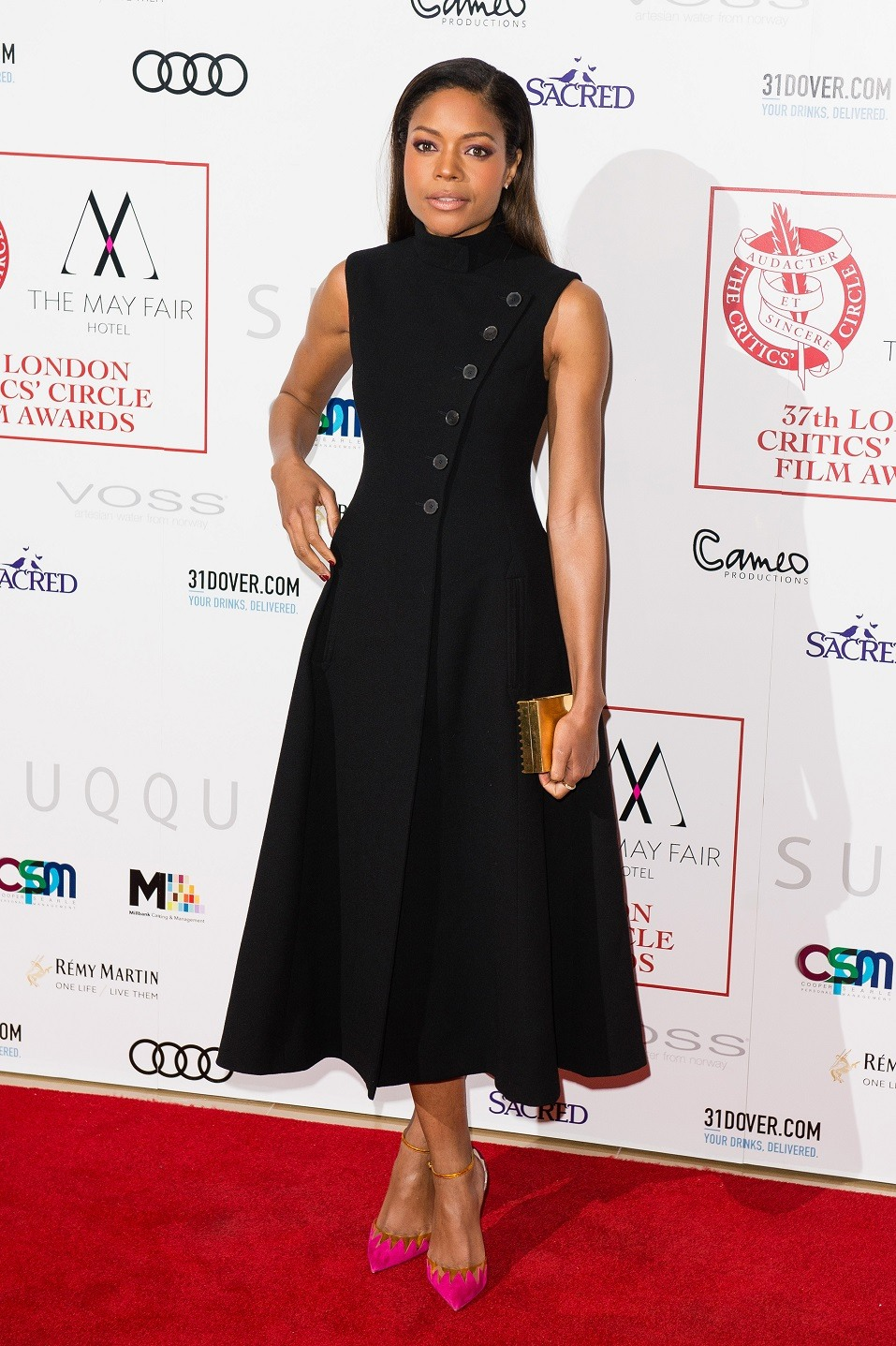 Naomie Harris attends The London Critic's Circle Film Awards