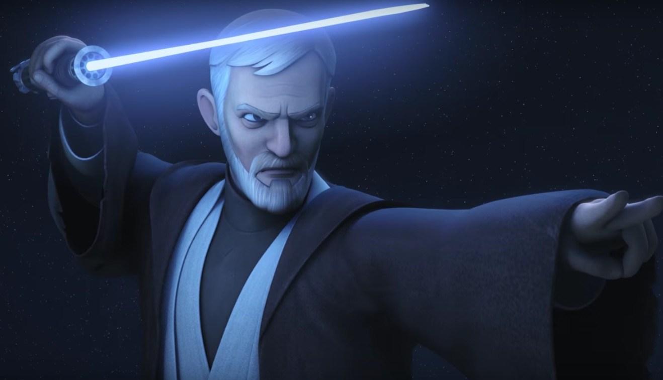 Obi Wan Kenobi on Rebels   Disney XD