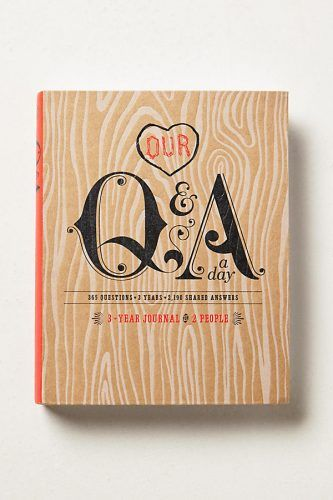 Product photo of Our Q&A a Day journal