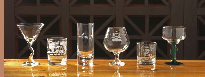 Product photo for Personalized Barware
