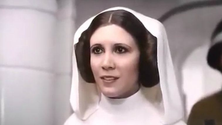 Princess Leia in Rogue One: A Star Wars Story