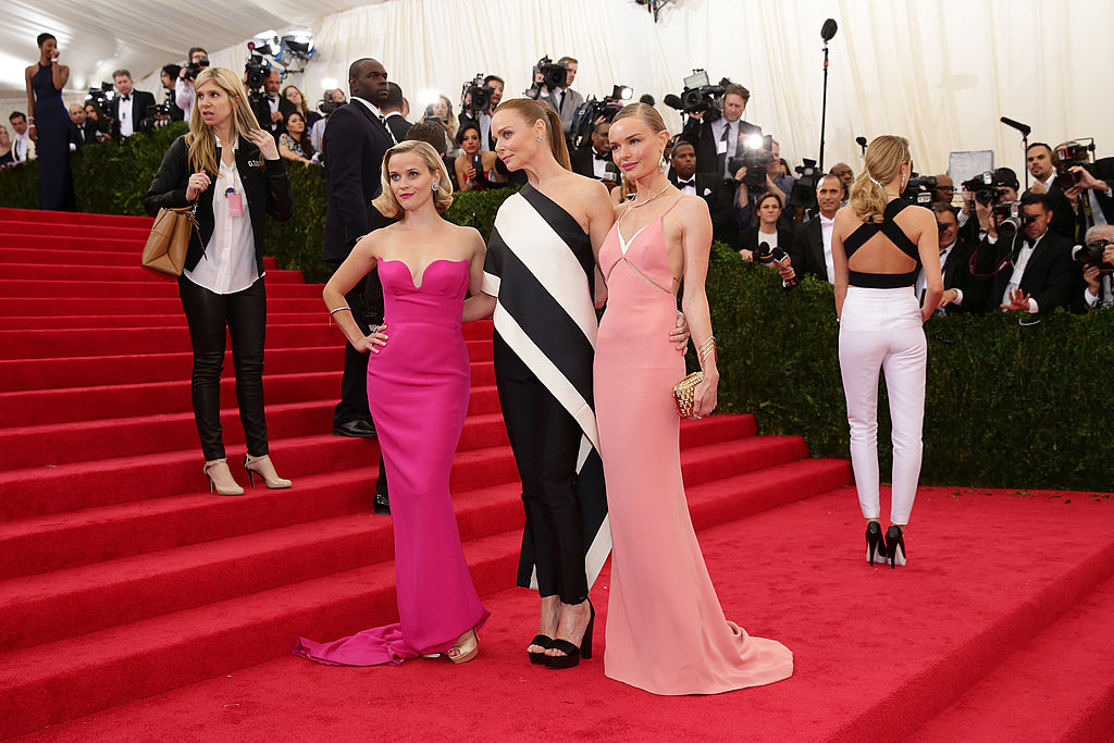 "Reese Witherspoon, Stella McCartney and Kate Bosworth attend the ""Charles James: Beyond Fashion"" Costume Institute Gala"