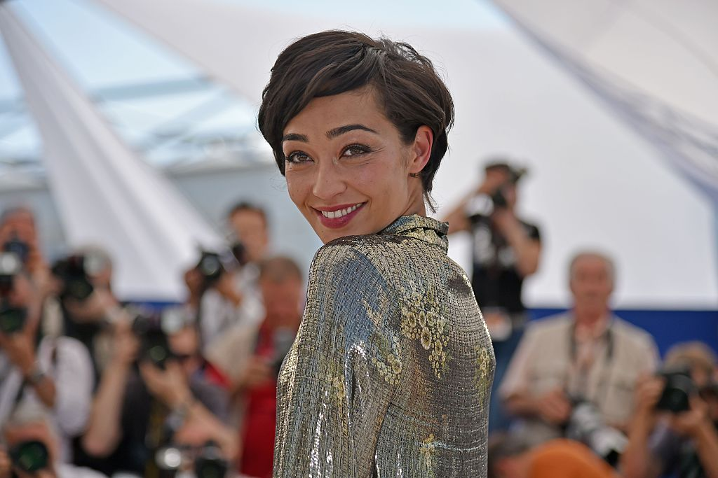Irish-Ethiopian actress Ruth Negga poses