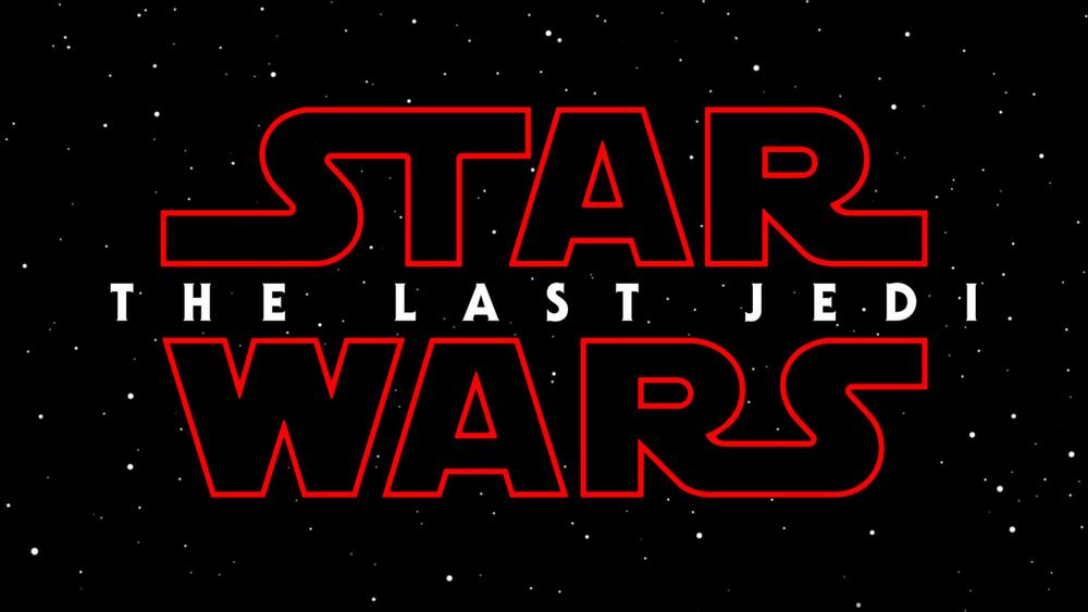 The title card for Star Wars: The Last Jedi