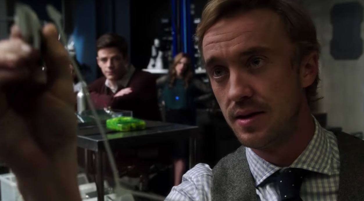 Tom Felton on the Flash