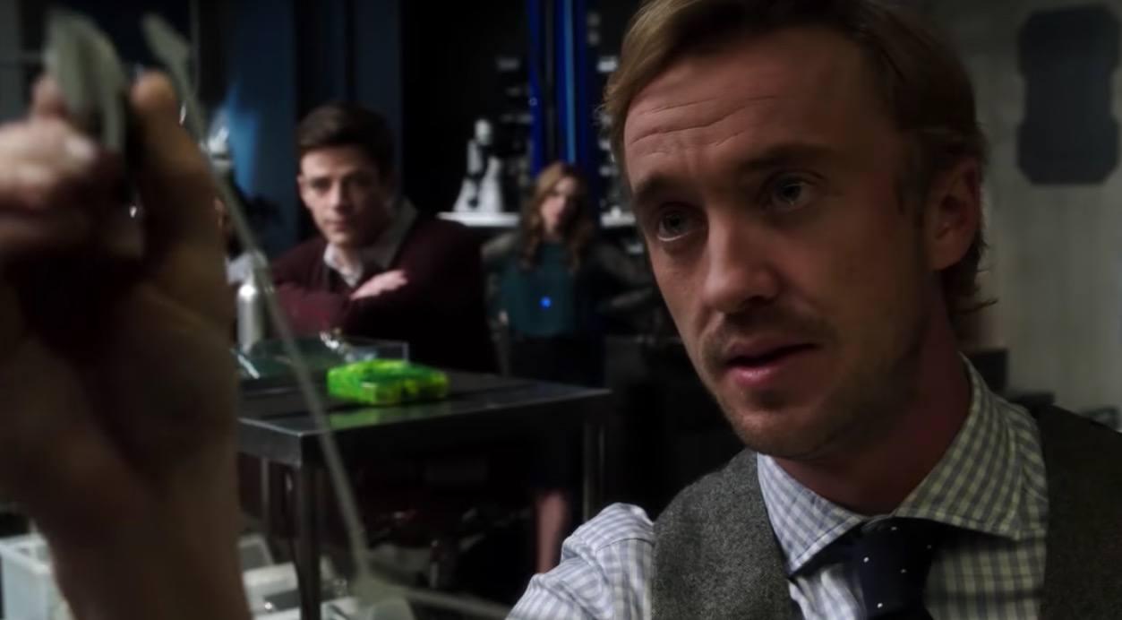 Tom Felton on the Flash