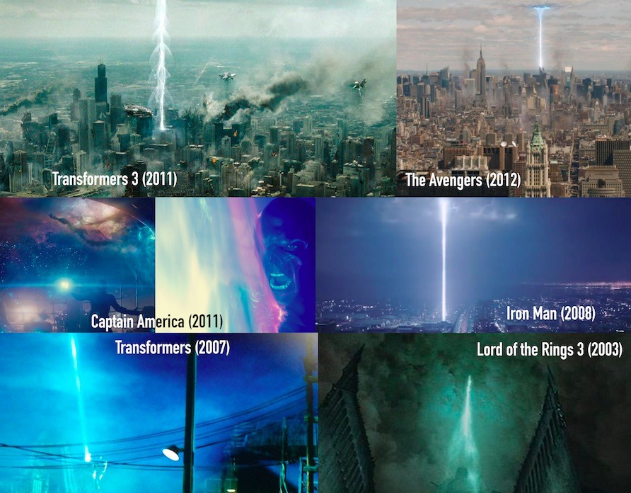 Pillar of Light trope