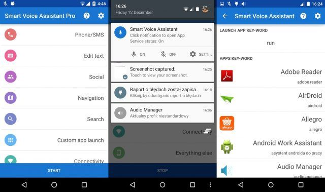 Smart Voice Assistant is a great duplicate of Siri for Android