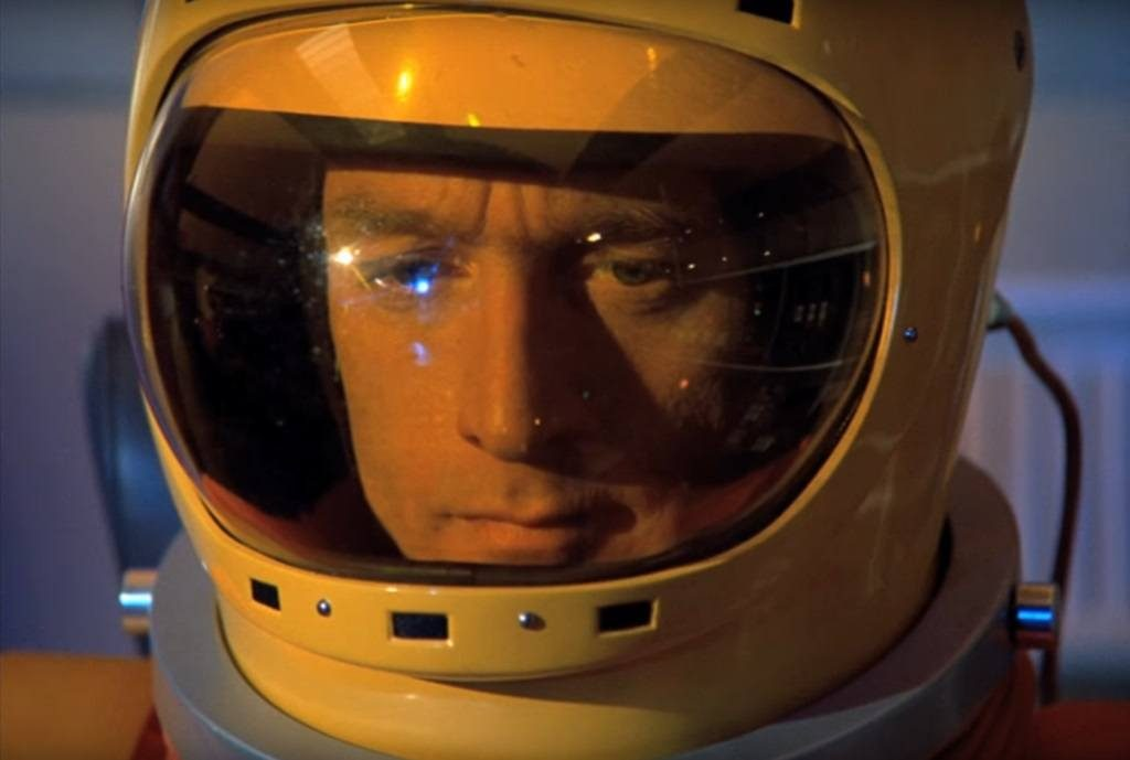 Actor Nick Tate in Space: 1999