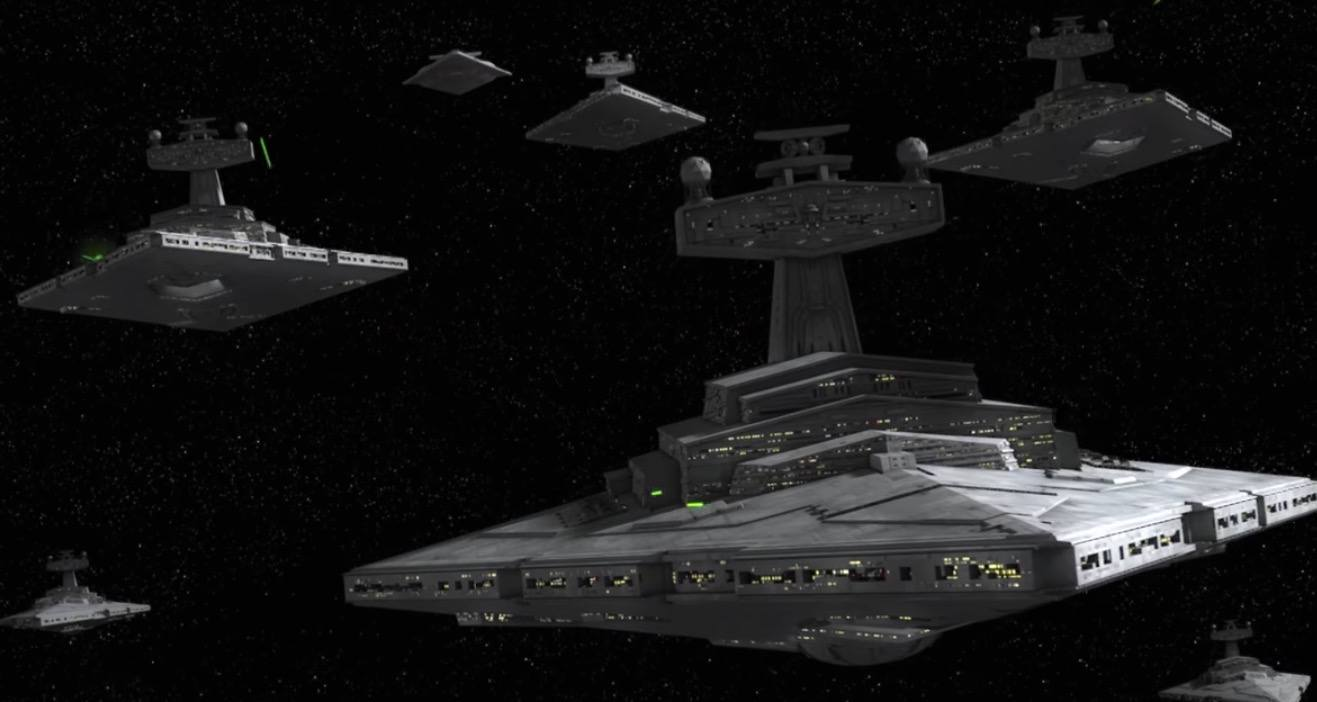 Star Destroyers in Season 3 of Star Wars Rebels