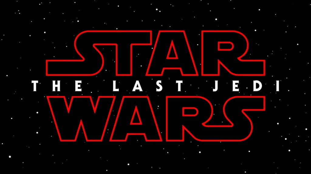 The new title logo for Star Wars: The Last Jedi