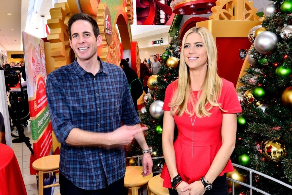 Tarek and Christina El Moussa, hosts of HGTV's hit show Flip or Flop