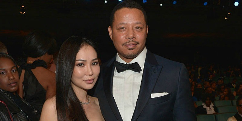 Terrence Howard and Michelle Ghent