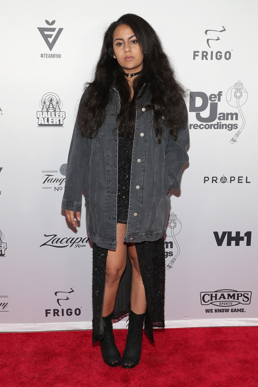 Singer Bibi Bourelly attends The 2016 Def Jam Holiday Party