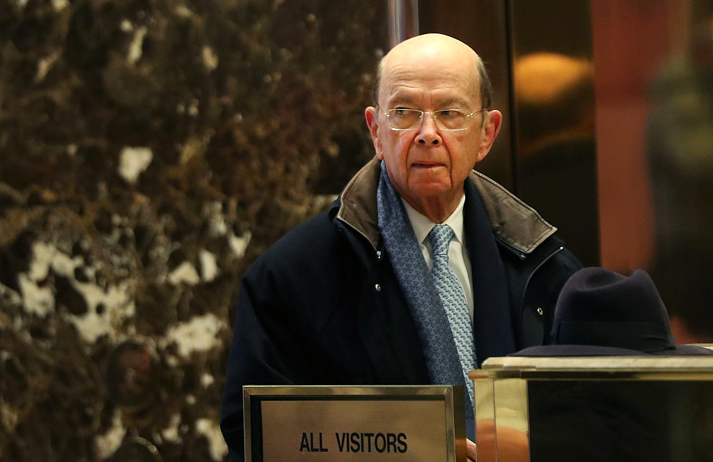 Investor Wilbur Ross arrives at Trump Tower