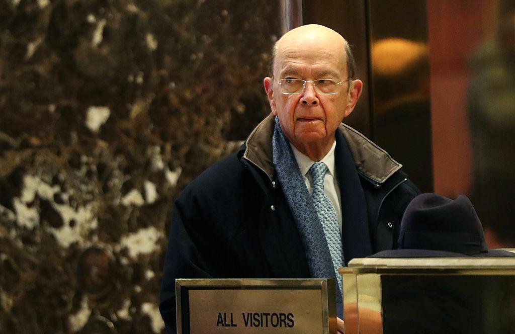 Investor Wilbur Ross arrives at Trump Tower