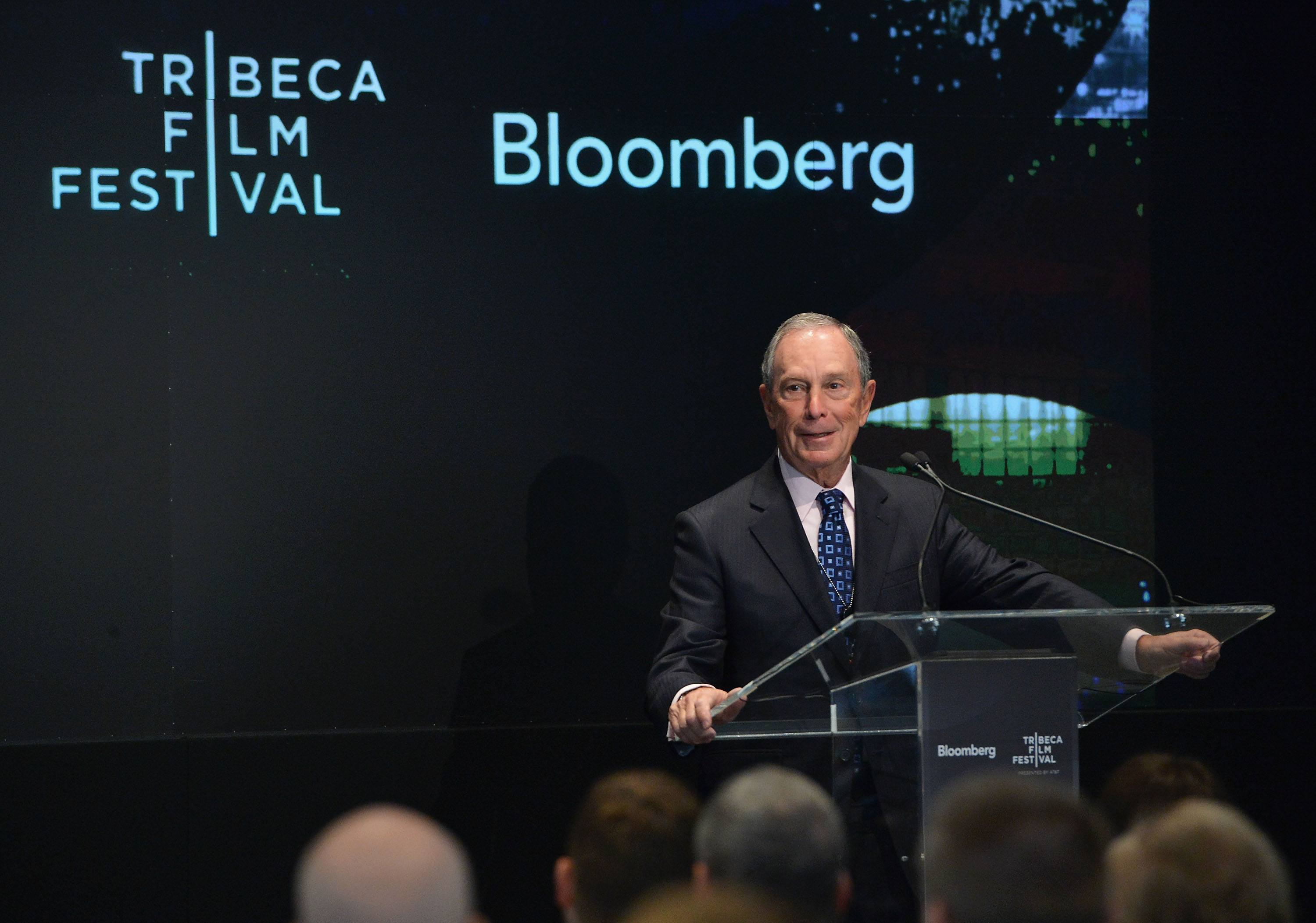 Michael Bloomberg attends Bloomberg - Business of Entertainment Breakfast at Bloomberg Foundation Building