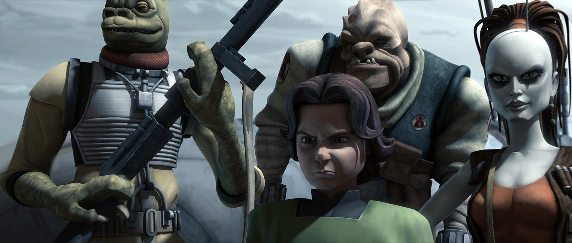 Boba Fett on the Clone Wars