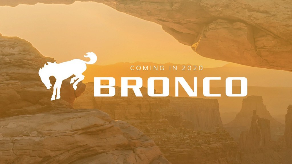 2020 Ford Bronco teaser image