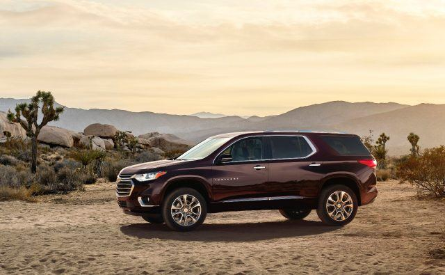 The 2018 Traverse offers purposeful technology designed to help keep passengers safe, comfortable, and connected