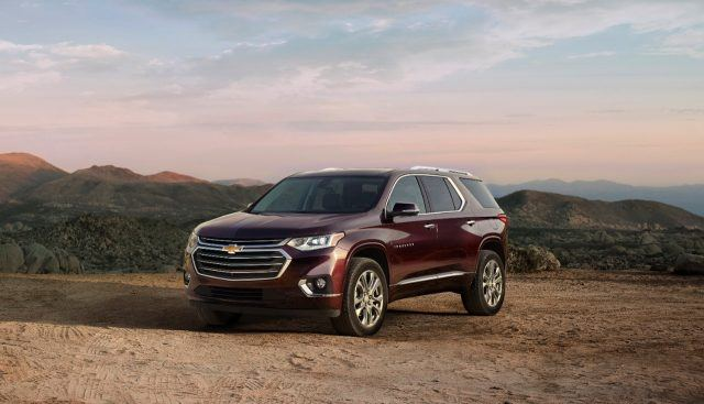 The 2018 Chevy Traverse aims at making cabin space one of its strong suits