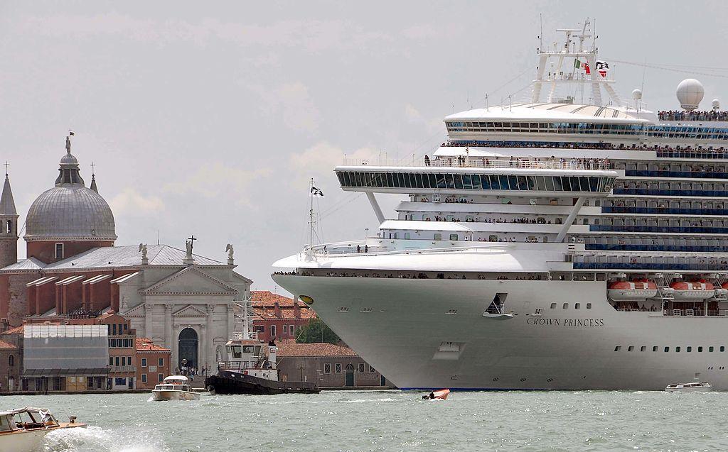 Crown Princess cruise liner