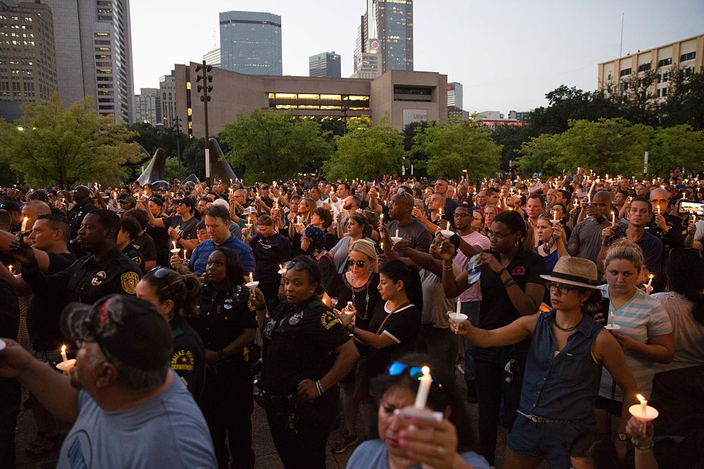 dallas vigil
