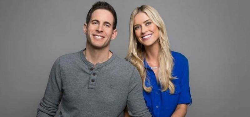 Flip or Flop stars sit together in front of a grey background