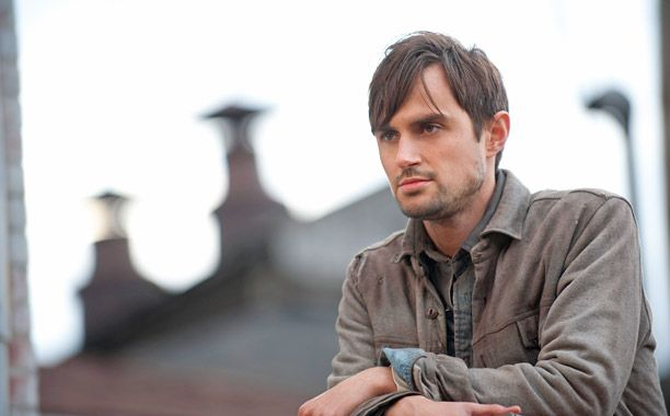 Gareth looks out over Terminus in a scene from 'The Walking Dead'