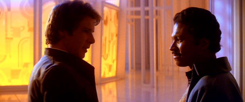Han Solo and Lando Calrissian