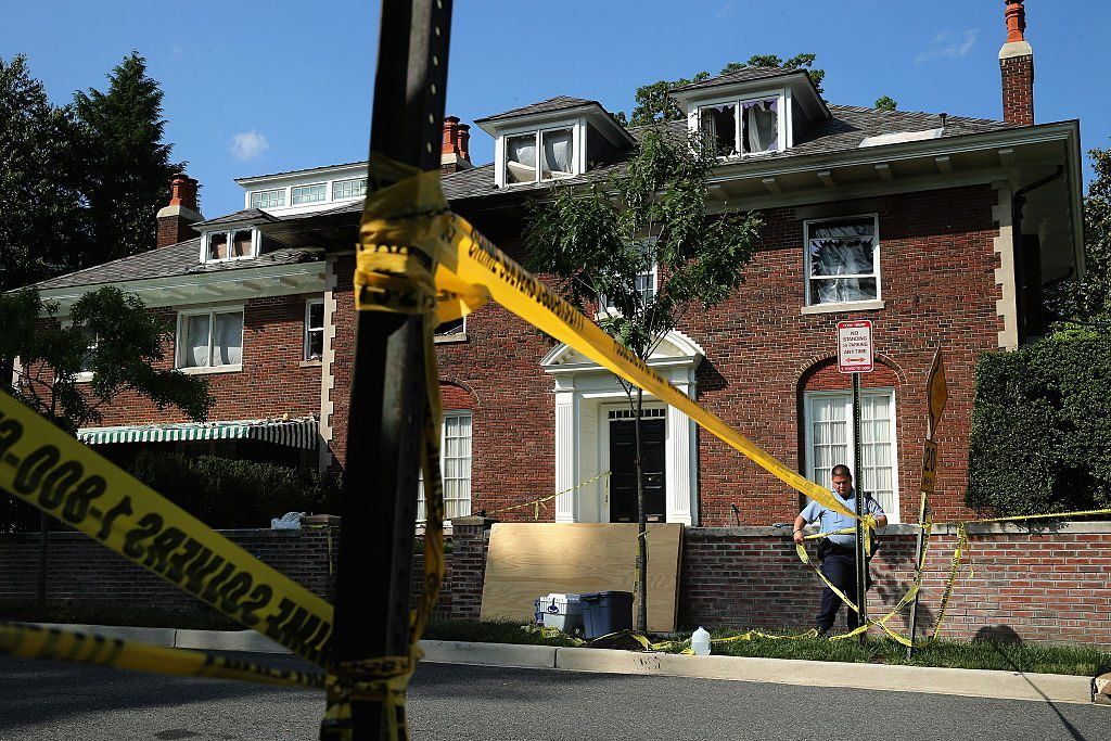 A home in Washington, D.C., was the site of a quadruple homicide