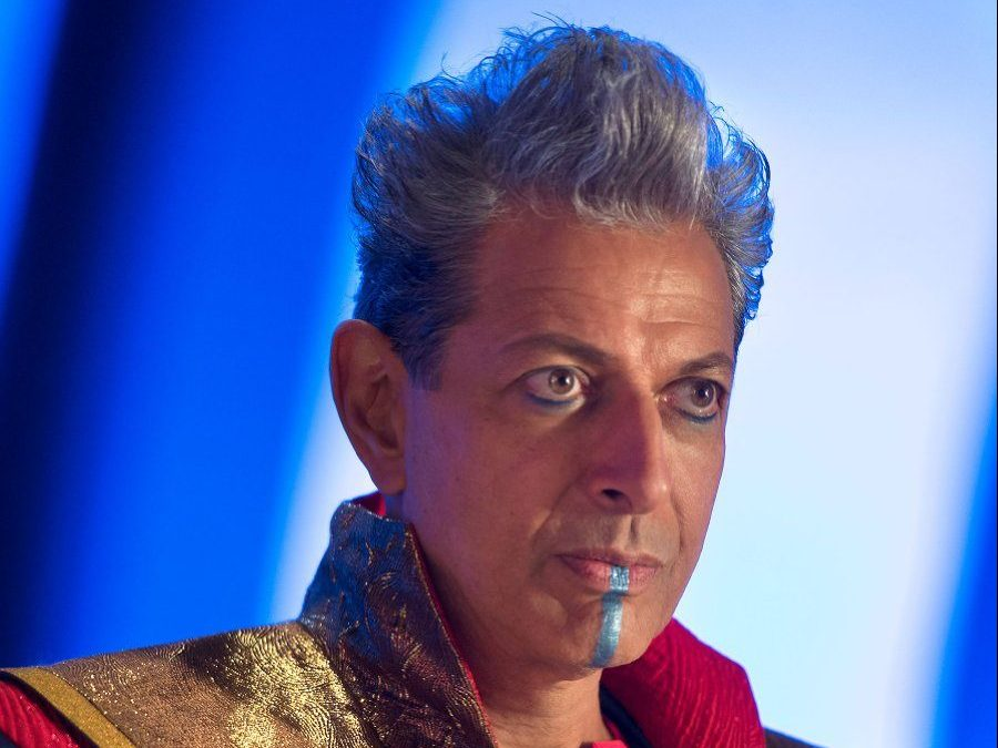 Jeff Goldblum as Grandmaster in Thor: Ragnarok