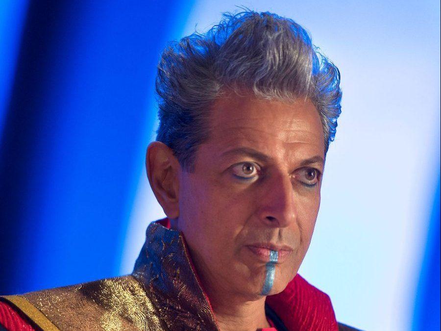 Jeff Goldblum as Grandmaster in Thor: Ragnarok